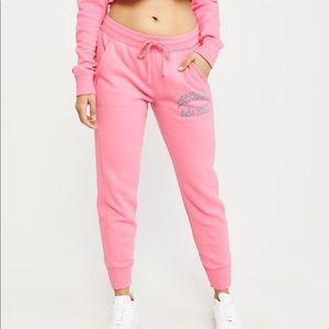 Abercrombie & Fitch Logo Joggers Sweatpants Large